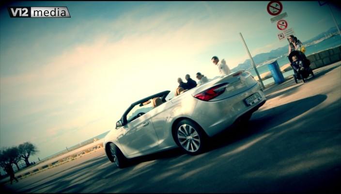 Mit dem Opel Cascada an der Côte d'Azur