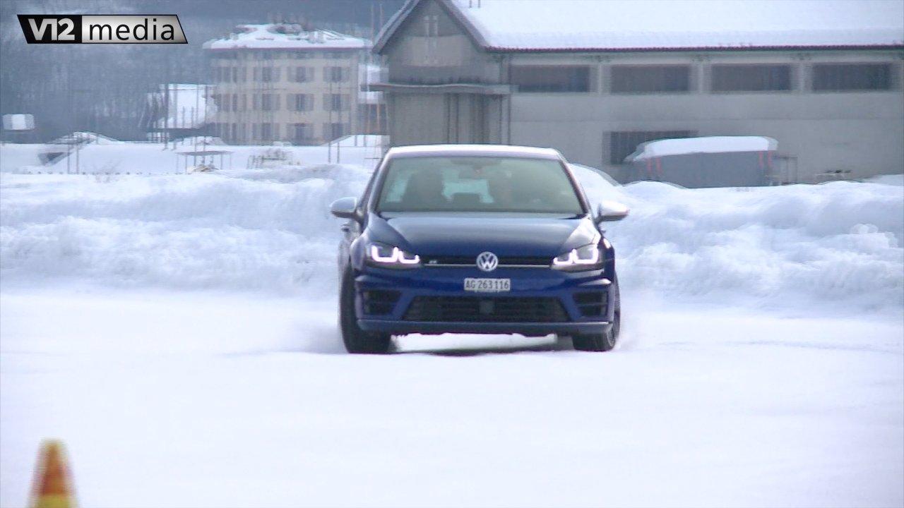 R kann auch anders – VW Golf R