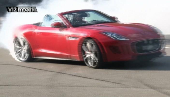 Jaguar F-Type V8 vs Audi S7 V8